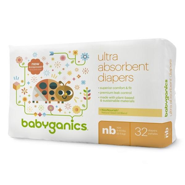 Babyganics Bag Diapers product image