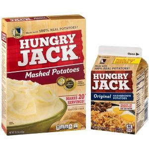 Hungry Jack Potatoes & Hashbrowns