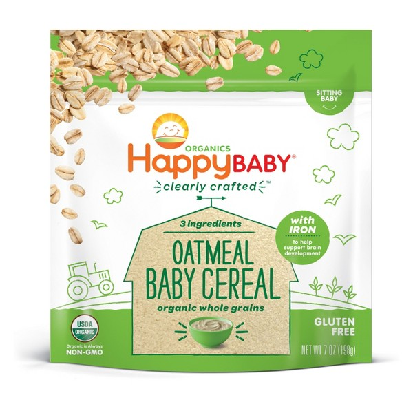 Happy Baby Clearly Crafted Cereal product image