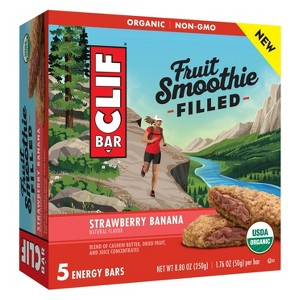 CLIF Filled line of Nutrition Bars