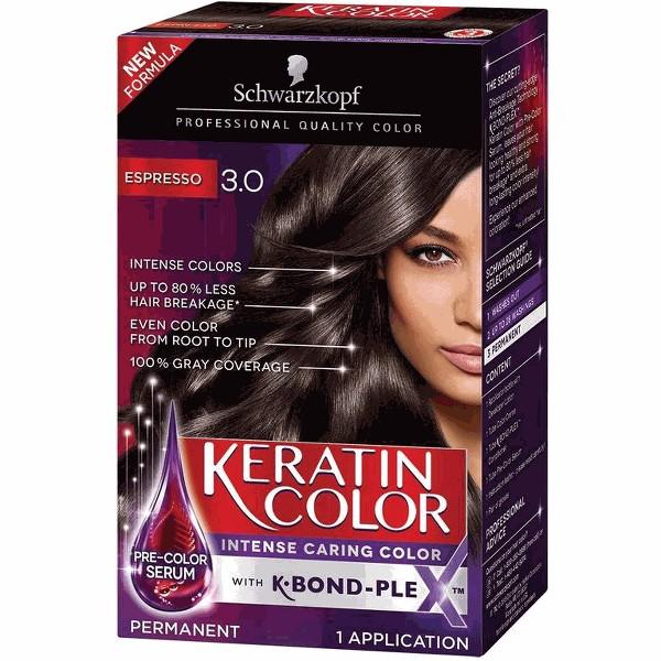 Schwarzkopf Keratin hair color product image