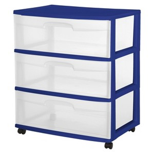 Plastic Storage Bins & Drawers