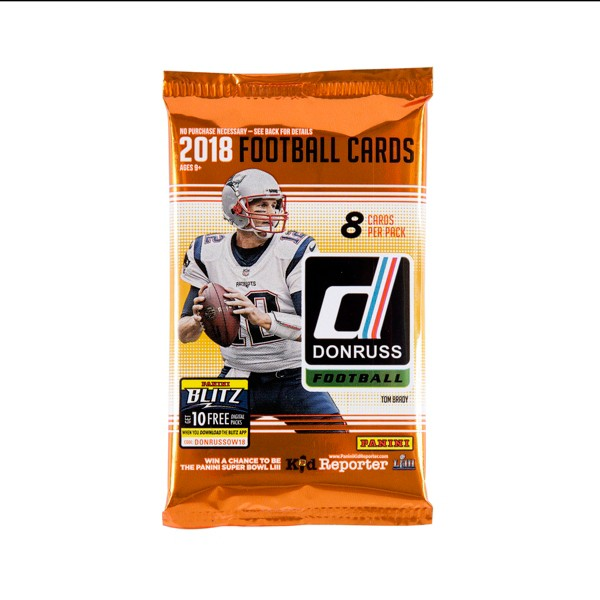 2018 Donruss Football Single Pack product image