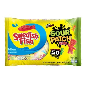 Sour Patch Kids-Swedish Fish