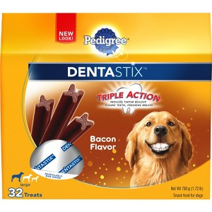 Dentastix Bacon Flavor Dog Treats