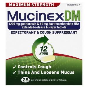 Mucinex SE & DM