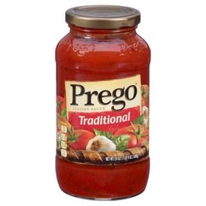 Prego & Farmers Market Pasta Sauce