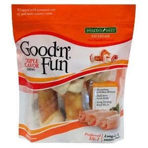 Good 'n' Fun Triple Flavor Bones