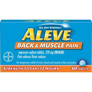 NEW Aleve Back & Muscle