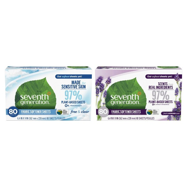 Seventh Generation Softener Sheets product image