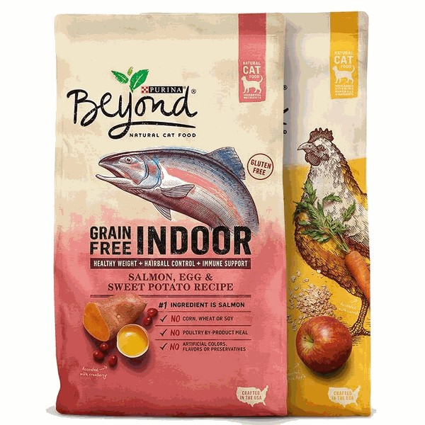 Beyond dry cat food product image