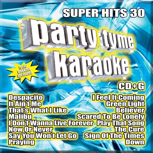 Party Tyme Karaoke:Super Hits 30 product image
