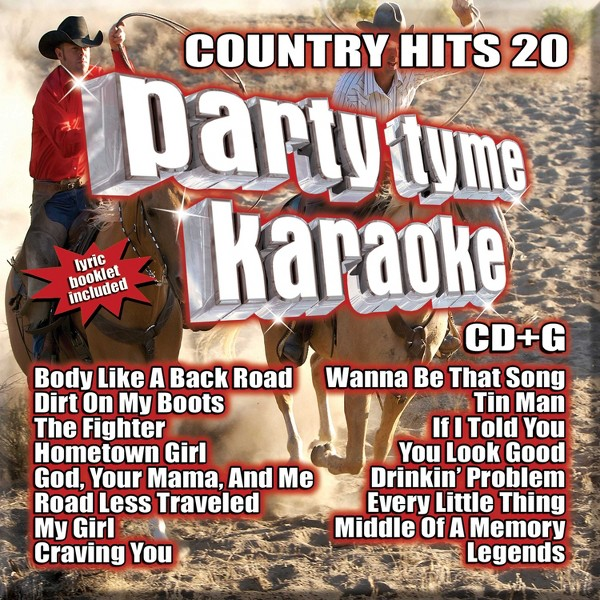 Party Tyme Karaoke:Country Hits 20 product image