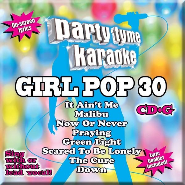 Party Tyme Karaoke:Girl Pop 30 product image