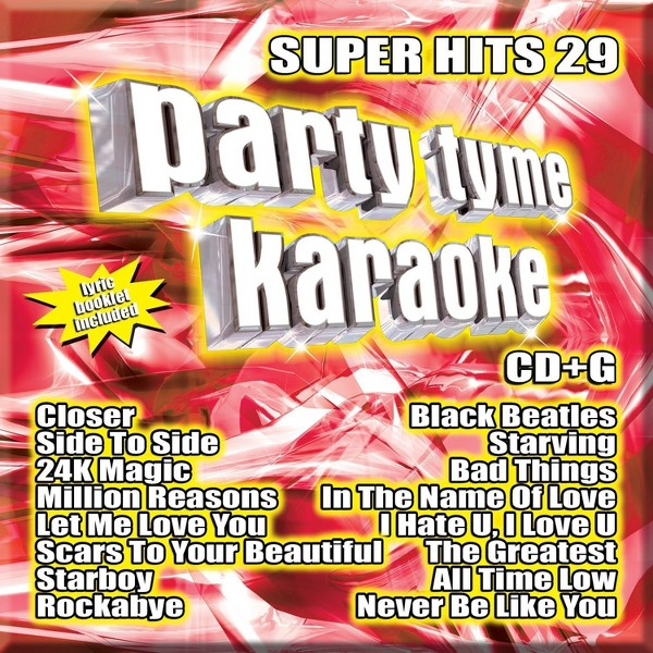 Party Tyme Karaoke:Super Hits 29 product image