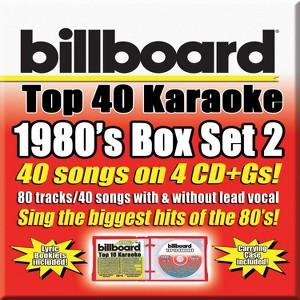 Party Tyme Karaoke:Billboard 1980s