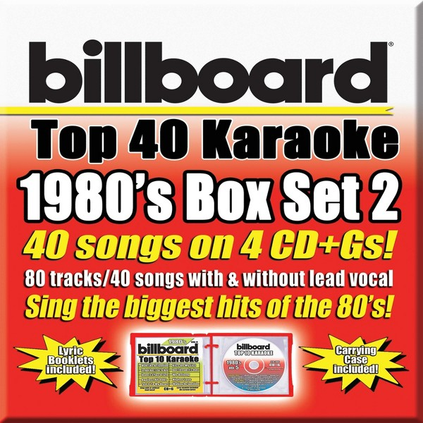 Party Tyme Karaoke:Billboard 1980s product image