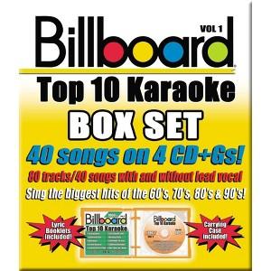Party Tyme Karaoke:Billboard Box
