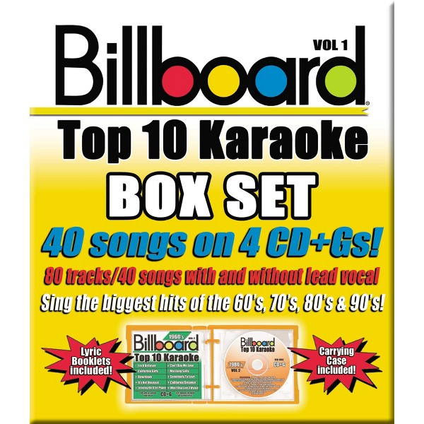 Party Tyme Karaoke:Billboard Box product image