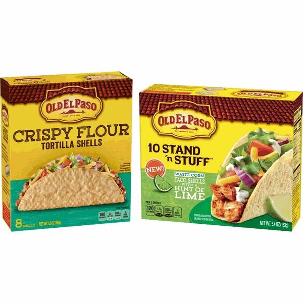 Old El Paso Crispy Tortilla Shells product image