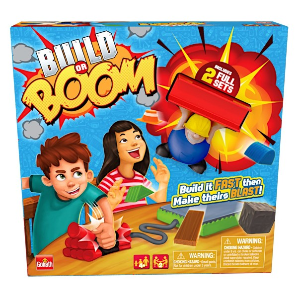 Goliath Games Build or Boom Game product image