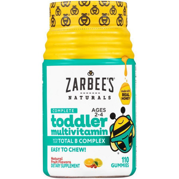 Zarbee's Toddler Multivitamins product image