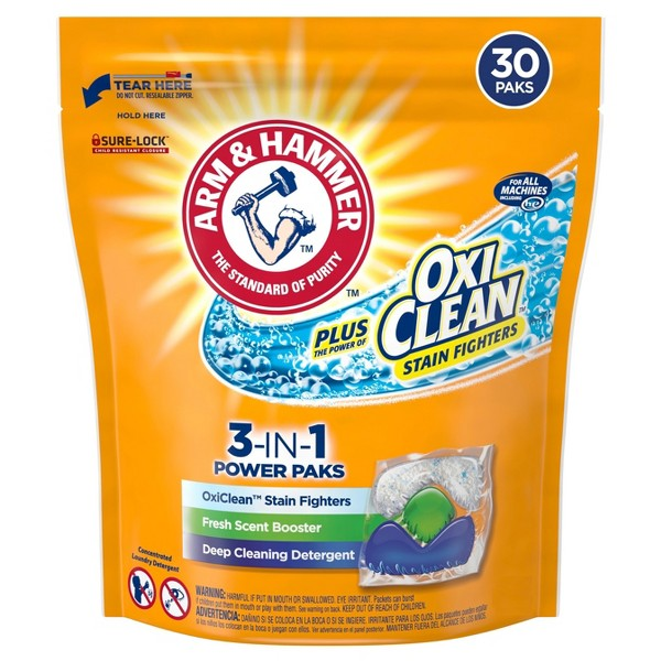 Arm & Hammer 3-in-1 Packs product image