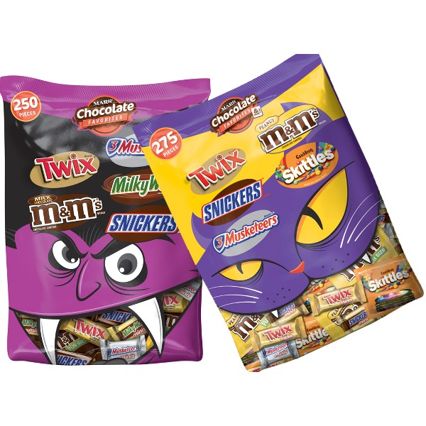 XL Mars Halloween Variety Bags product image