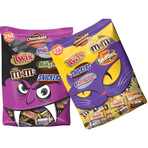 xl mars halloween variety bags