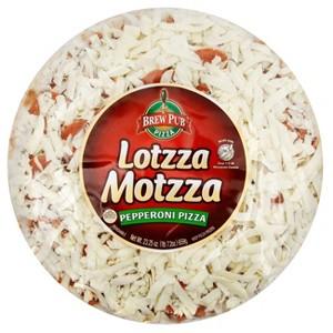 """Brew Pub Lotzza Motzza 12"""" Pizza"""