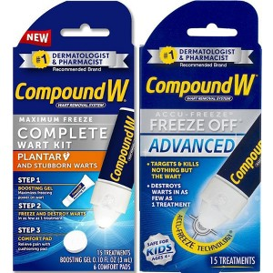 Compound W Wart Removal
