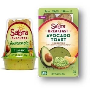 Sabra Guacamole Snacks