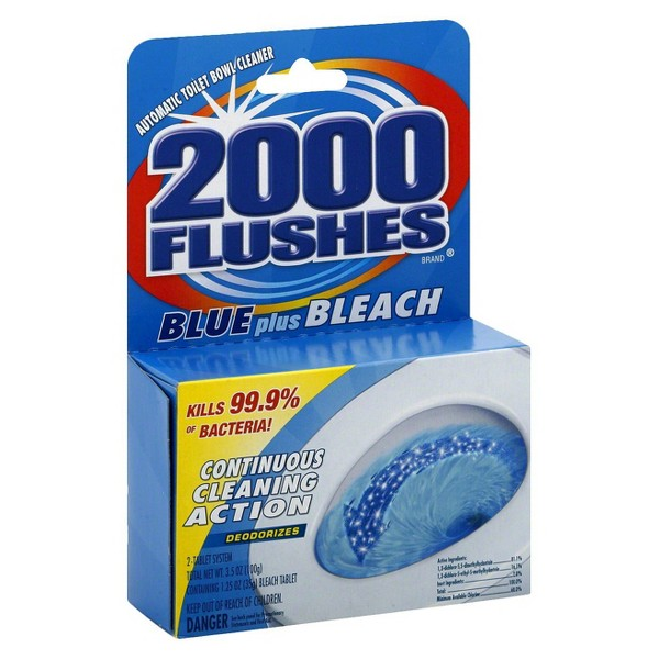 2000 Flushes Blue + Bleach product image