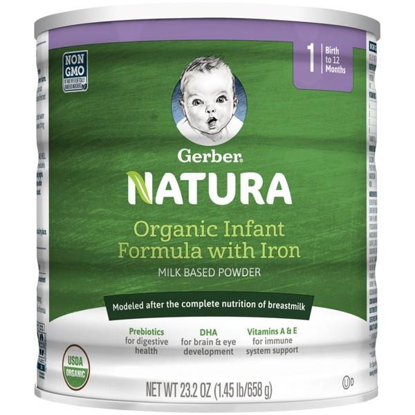 Gerber Natura Organic Formula product image