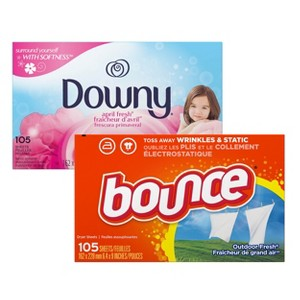 Downy & Bounce Dryer Sheets