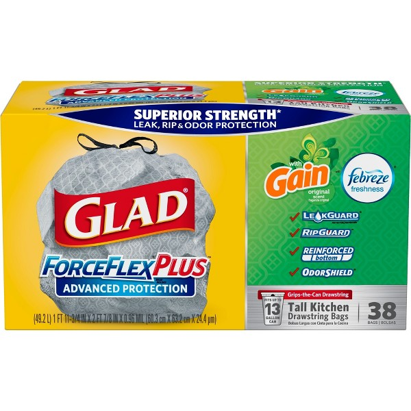 Glad ForceFlex+Advanced Protection product image