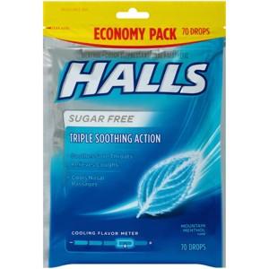Halls Cough Drops