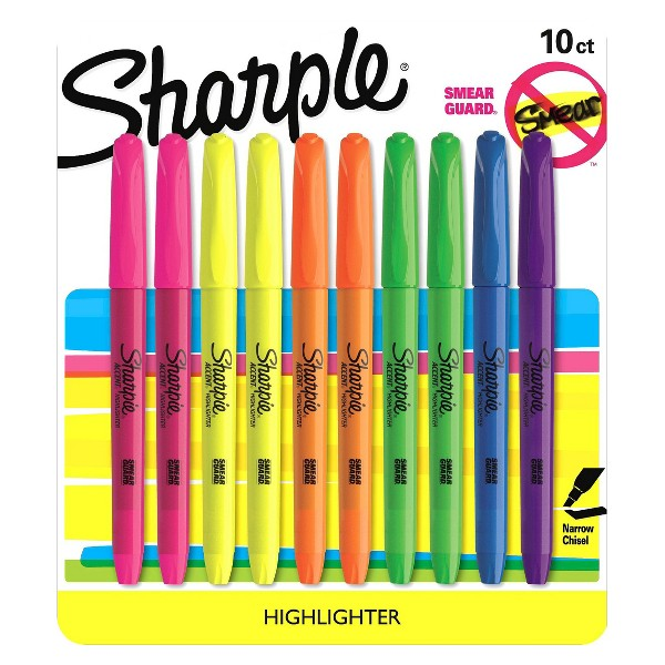 Sharpie Pocket Accent Highlighter product image