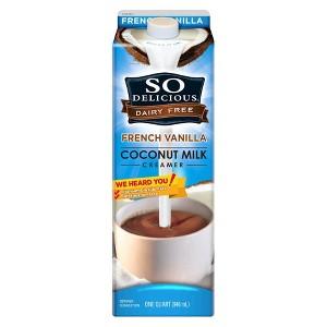 So Delicious Dairy-Free Creamer