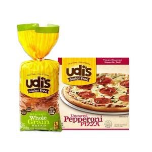 Udi's Gluten Free Frozen Foods