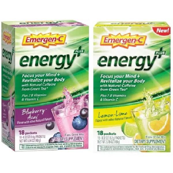 NEW Emergen-C Energy+ product image