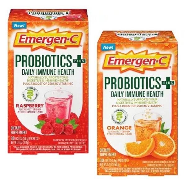 NEW Emergen-C Probiotics+ product image