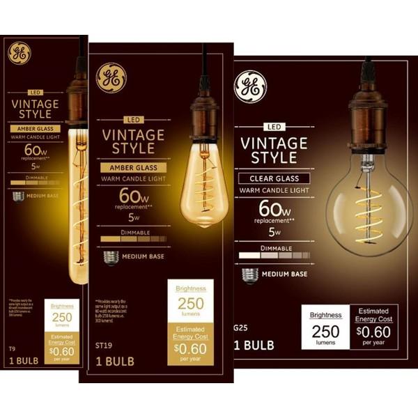 GE Vintage Light Bulbs product image