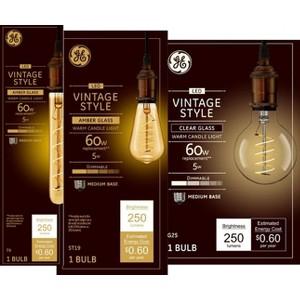 GE Vintage Light Bulbs