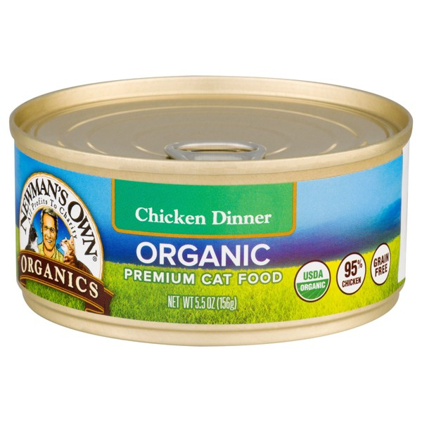 Newman's Own Canned Cat Food product image