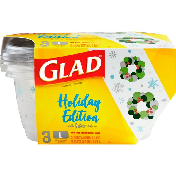 Glad Holiday Food Storage product image