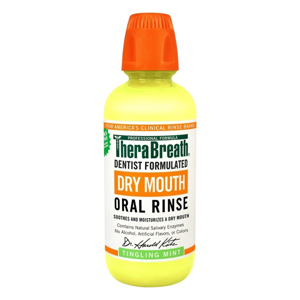 TheraBreath Dry Mouth Oral Rinse product image