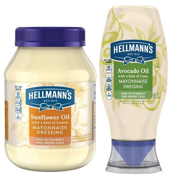 Hellmann's Alternative Oils Mayos product image