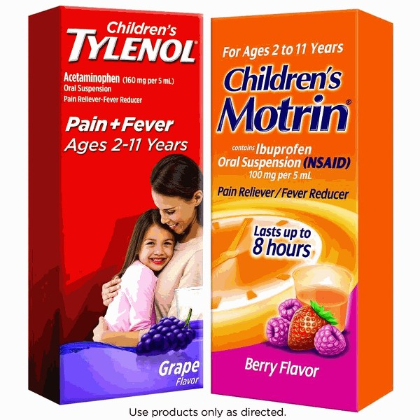Pediatrics Tylenol or Pediatrics Motrin product image