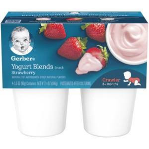 Gerber Yogurt Blends Snacks